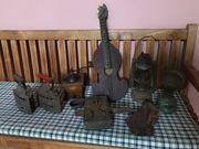 verschiedene alte Sachen antik deko