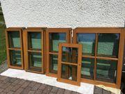 Holzfenster mit Sprossen - gebraucht -