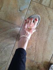 Hübsche Schuhe oft getragen