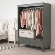 Kleiderschrank Garderobe IKEA Bryggja Nagelneu