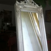 Standspiegel silberfarben 173 x 43