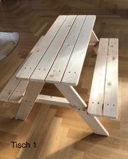 Picknicktisch Kindersitzgarnitur Nicki von Pinolino