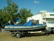 Wiking Schlauchboot Motorboot mit 60