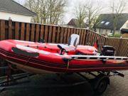 Motorboot RIB Schlauchboot