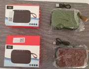 2x Drahtloser Bluetooth Stereo Lautsprecher
