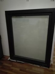 Kunststoff-Aluminium Fenster dreifachverglast Aluplast