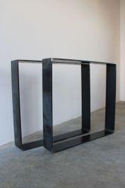 DIY Kufengestell Tischkufen Tischuntergestell Esstisch