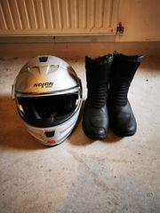 Motorrad Helm Schuhe