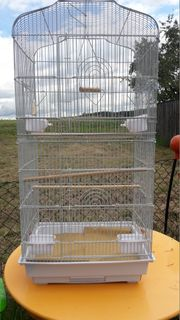 Verkaufe XL Vogelkäfig 44x33x92 mit