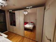 2 Schlafzimmerschränke Kleiderschrank 180x220x60cm Top