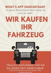 Ankauf von Fahrzeuge freuen uns