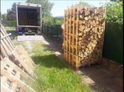 Buchenholz Eichenholz in Kisten Buche