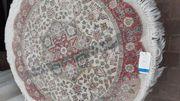 Persischen Teppich rund