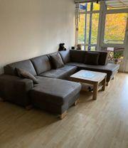 Leder-Couchlandschaft zum super Preis