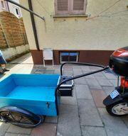 Stabiler Moped Mofa Fahrradanhänger