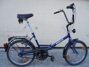 Klapp Fahrrad Mini Chopper