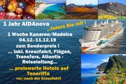 Sonderreise AIDa nova Kanaren Madeira