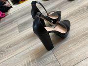 verschiedene high heels getragen gr