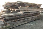 Altholz Balken Holz gehackte Balken