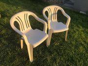 Verkaufe Garten-Sessel aus Kunststoff
