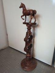 Zu verkaufen schöne dekorative holzschnitzstatue