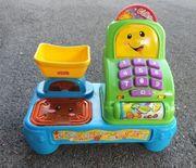 elektronische Registrierkasse für Kinder Kaufladen