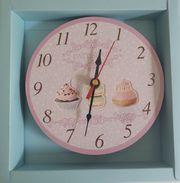 Wanduhr Uhr Patisserie von Strauss