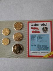 Österreichs Münzen vor dem Euro