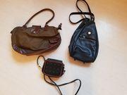 3 verschiedene Taschenmodelle nur zusammen
