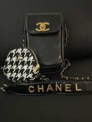 Chanel VIP Logo Handy Tasche