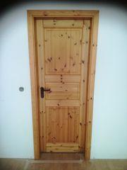 Holztür Kiefer massiv