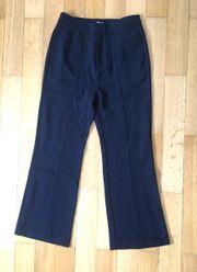Anzughose Schlaghose dunkelblau Pepe Jeans