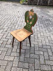 Stuhl aus alter Bauernstube