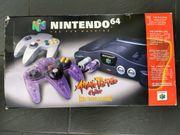 Nintendo N64 Konsole Atomic Purple