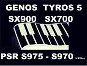 Yamaha Tyros 5 Genos PSR