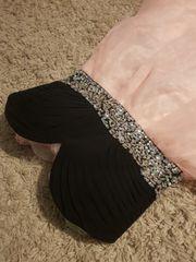 Langes rosa AbendKleid mit Glitzer