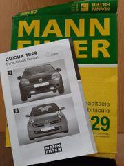 MAN Luftfilter CU CUK 1829