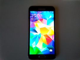 Samsung Handy - Samsung Galaxy S5 Charcoal Black