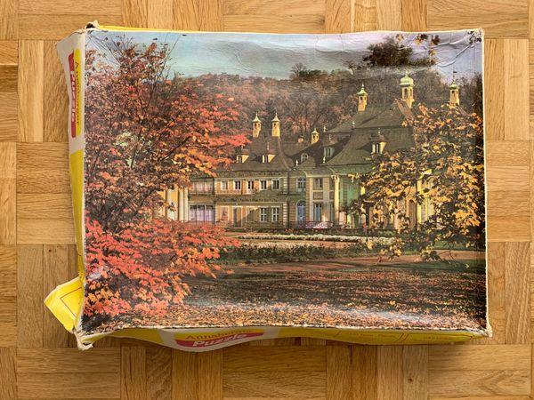 DDR 1000 Teile Puzzle, Dresden Schloss Pillnitz