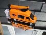 Siku Modellauto--MB Hubliftwagen--Versalift--Sondermodell