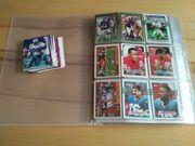 Über 500 NFL Football Sammelkarten
