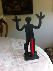 Kerzenhalter nach Keith Haring