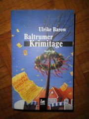 Buch Roman Ulrike Barow Baltrumer