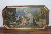 Großes Heiligenbild Giovanni Bild Madonna
