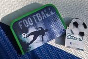 Schüleretui mit Inhalt - Football