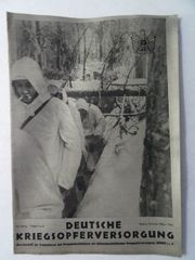 Deutsche Kriegsopferversorgung Februar März 1942