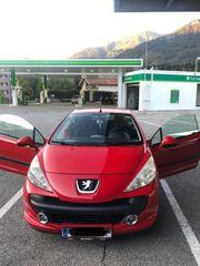 Verkaufe Peugeot 207 CC Cabrio