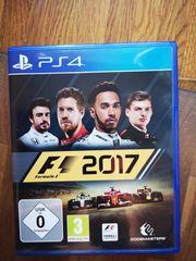 PS4 Spiel F1 2017