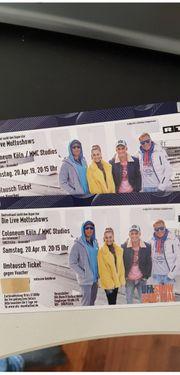 Verkaufe 2 Tickets DSDS 3