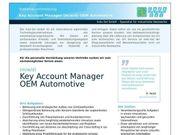 Key Account Manager OEM Automotive